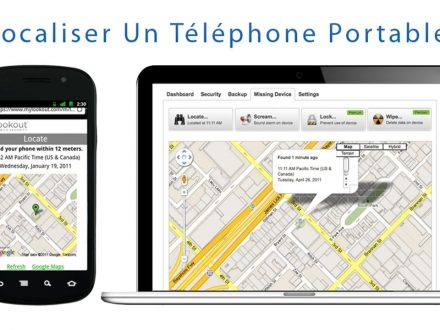 Localiser un portable – Finding techno