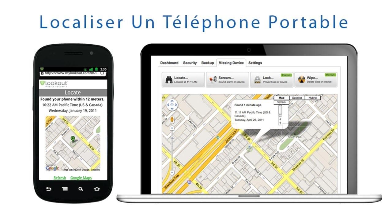 Localiser un portable – Finding techno