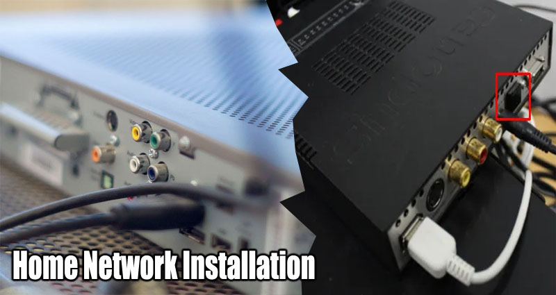 Worse Than Setting Your VCR – Home Network Installation