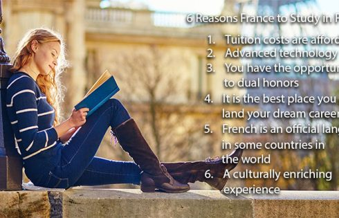 6 Reasons France to Study in France